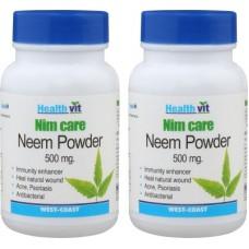 Deals, Discounts & Offers on Health & Personal Care - Healthvit Nim Care Neem Powder
