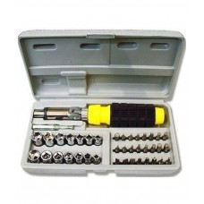 Deals, Discounts & Offers on Screwdriver Sets  - 41 Pcs Home Tool Kit