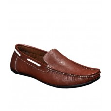 Deals, Discounts & Offers on Foot Wear - T.L.M. Stanza Brown Loafers