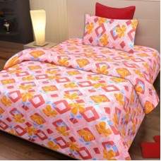 Deals, Discounts & Offers on Furniture - IWS Cotton Printed Single Bedsheet