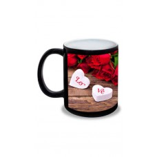 Deals, Discounts & Offers on Home Improvement - Archies Limited Love Black Personalised Mug