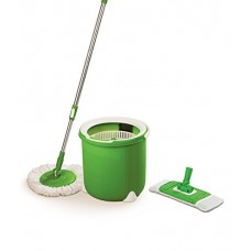 Deals, Discounts & Offers on Home Appliances - Scotch-Brite Jumper Spin Mop with Round and Flat Heads with Refill