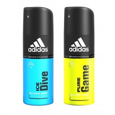 Deals, Discounts & Offers on Personal Care Appliances - Adidas Deo Pack of 2