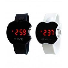 Deals, Discounts & Offers on Men - Gentax Black Rubber Automatic Watch