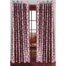 Deals, Discounts & Offers on Home Decor & Festive Needs - Homefab India Set of 2 Window Eyelet Curtains