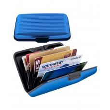 Deals, Discounts & Offers on Accessories - Ishita Fashions Blue Aluminium Card Holder