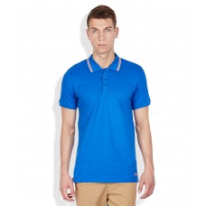 Deals, Discounts & Offers on Men Clothing - Jack & Jones Blue Polo T-Shirt