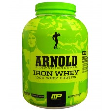 Deals, Discounts & Offers on Health & Personal Care - MP Arnold Schwarzenegger Series Iron Whey 5 lbs Strawberry Banana