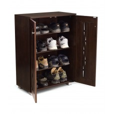 Deals, Discounts & Offers on Home Appliances - Flat 64% off on Rome 2 Doors Shoes Rack