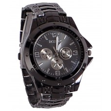 Deals, Discounts & Offers on Men - Rosra Black Analog Watch