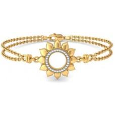 Deals, Discounts & Offers on Women - BlueStone The Sunflower of Loyalty Yellow Gold 18kt Diamond Bracelet
