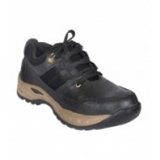 Tolexo Offers and Deals Online - Jk Port JKP087BLK Safety Black Shoe With Steel Toe