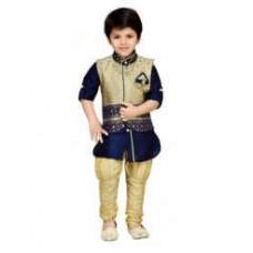 Deals, Discounts & Offers on Kid's Clothing - AJ Dezines Kurta, Waistcoat And Breeches Set For Kids