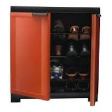 Deals, Discounts & Offers on Furniture - Get extra Rs.150/- off on Nilkamal sandy brown color freedom mini shoe cabinet