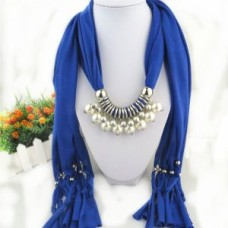 Deals, Discounts & Offers on Women Clothing - Fashionable Pendant Jewellery Scarf