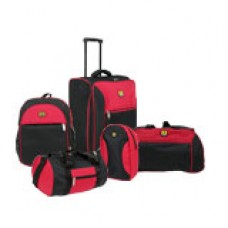 Deals, Discounts & Offers on Accessories - Top Gear 5 Pcs Luggage Combo