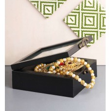 Deals, Discounts & Offers on Women - Anisha Creatives 007 Brown Wooden Accessory Box