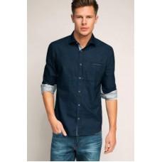 Deals, Discounts & Offers on Men Clothing - Flat 62% off on Chalkfactory Premium Denim Shirt