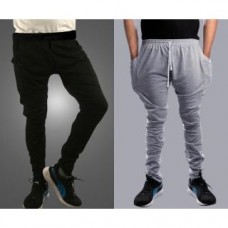 Deals, Discounts & Offers on Men Clothing - Pack of 2 stylish Track pant for Men