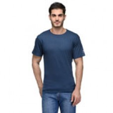 Deals, Discounts & Offers on Men Clothing - Urban Glory Mens Cotton Solid T-Shirt