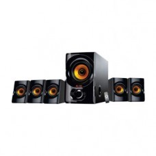 Deals, Discounts & Offers on Electronics - Flow Golden Boy 5.1 Multimedia Speaker Home Theater System with 5.25inch Woofer