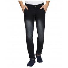 Deals, Discounts & Offers on Men Clothing - Flat 77% off on Wajbee Black Slim Fit Jeans