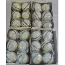 Deals, Discounts & Offers on Sports - Flat 90% off on Sg 24,white Leather Cricket Balls In Box