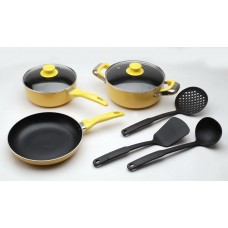 Deals, Discounts & Offers on Home & Kitchen - Polo Lifetime 8 Pcs Induction Cookware