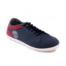 Deals, Discounts & Offers on Foot Wear - Globalite Navy Blue Canvas Casual Shoes