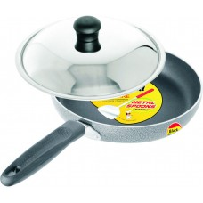Deals, Discounts & Offers on Home & Kitchen - Black Diamond Fry Pan with Lid