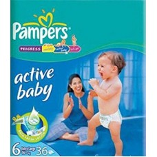Deals, Discounts & Offers on Baby Care - PAMPERS ACTIVE BABY DIAPERS