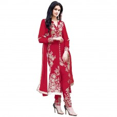 Deals, Discounts & Offers on Women Clothing - Style Mania 60 Gm Georgette Embroidered Salwar Kameez