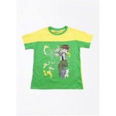 Deals, Discounts & Offers on Kid's Clothing - CHERISH Printed Boy's Round Neck T-Shirt