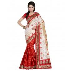 Deals, Discounts & Offers on Women - Kesar Sarees Chanderi Saree