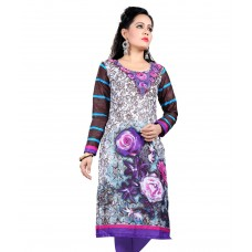 Deals, Discounts & Offers on Women Clothing - Nakoda Creation Multicoloured Cotton Unstitched Kurti Dress Material
