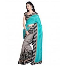 Deals, Discounts & Offers on Women - Kesar Sarees Grey Saree