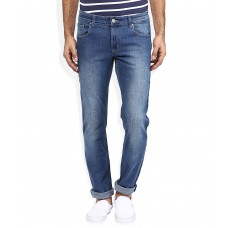 Deals, Discounts & Offers on Men - Ruf And Tuf Blue Skinny Fit Jeans