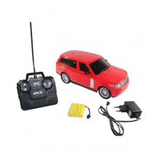 Deals, Discounts & Offers on Gaming - Range Rover Style Remote Radio 4 Channel Control Racing Car Toy Rechargeable Red