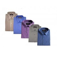 Deals, Discounts & Offers on Men Clothing - Flat 47% off on Pack Of 5 Formal Shirts