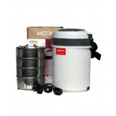 Deals, Discounts & Offers on Home & Kitchen - Milton Electronic Tiffin Box Set 4 Pcs