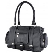 Deals, Discounts & Offers on Women - Smartway Black Faux Leather Handbag