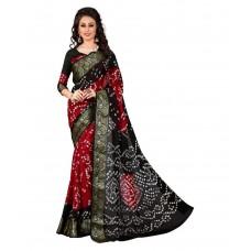 Deals, Discounts & Offers on Women Clothing - Flat 42% off on Wedding Villa Red Art Silk Saree