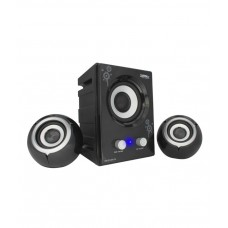 Deals, Discounts & Offers on Earings and Necklace - Zebronics Micro Drum 2.1 Desktop Speakers
