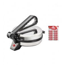 Deals, Discounts & Offers on Home & Kitchen - Eveready 900W Roti Maker RM1001 with 10 free AA Batteries at Rs.1449
