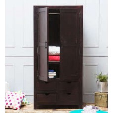 Deals, Discounts & Offers on Furniture - Tulsa Wardrobe in Passion Mahagony Finish