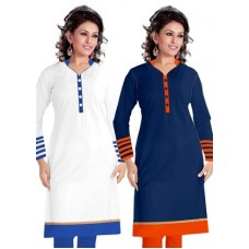 Deals, Discounts & Offers on Women Clothing -   Roll over the image to zoom in  Surat Tex Women Cotton Kurta