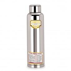Deals, Discounts & Offers on Home Decor & Festive Needs - Paanjo Stainless Steel Fridge Bottle 900 ml, silver