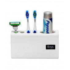 Deals, Discounts & Offers on Accessories - Acrylic Tooth Brush Holder- Snow Series