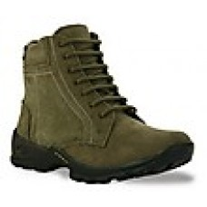 Deals, Discounts & Offers on Foot Wear - Bacca Bucci Premium Olive Men Boots @ Rs.475/-
