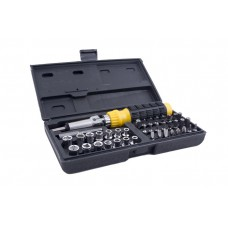 Deals, Discounts & Offers on Hand Tools - Buildskill BMS1100 41 pcs Magnetic Screwdriver Set with Metal Connector
